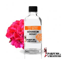 Géranium rosat, Huile parfumée spéciale pour diffusion 10ml - Parfums de Créateurs