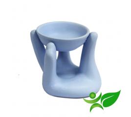 Diffuseur-Brûleur Main, Bleu poudré - Aroma Centre
