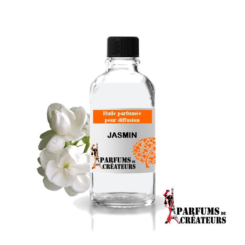 Jasmin, Huile parfumée spéciale pour diffusion 10ml - Parfums de Créateurs