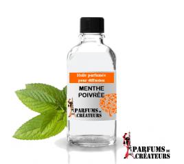 Menthe poivrée, Huile parfumée spéciale pour diffusion 10ml - Parfums de Créateurs