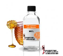 Miel, Huile parfumée spéciale pour diffusion 10ml - Parfums de Créateurs