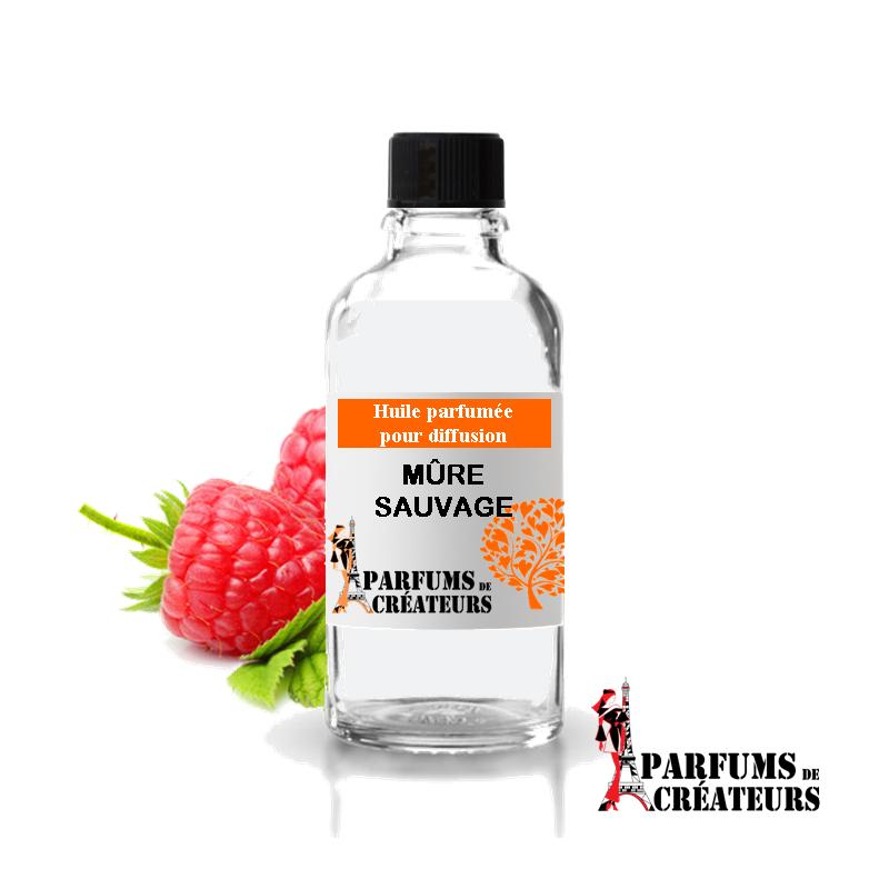 Mûre sauvage, Huile parfumée spéciale pour diffusion 10ml - Parfums de Créateurs