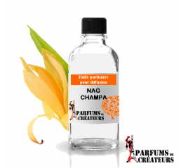 Nag champa, Huile parfumée spéciale pour diffusion 10ml - Parfums de Créateurs