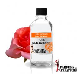 Rose du jardin, Huile parfumée spéciale pour diffusion 10ml - Parfums de Créateurs