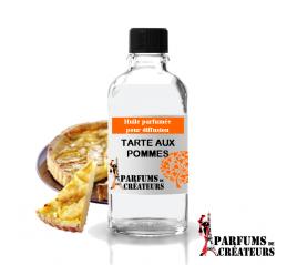 Tarte aux pommes, Huile parfumée spéciale pour diffusion 10ml - Parfums de Créateurs