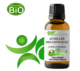 Achillée millefeuille BiO, huile essentielle (Achillea millefolium) - Aroma Centre