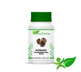 Konjac (glucomannane) - Racine, gélule (Amorphophallus Konjax) 400mg - Aroma Centre