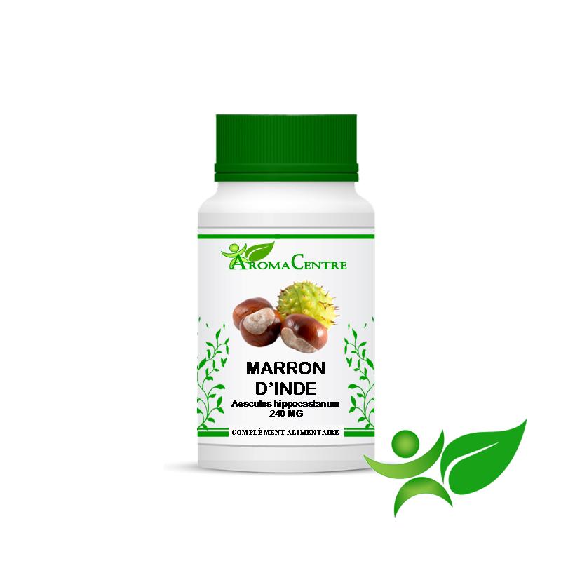 Marron d'inde - Ecorce, gélule (Aesculus hippocastanum) 240mg - Aroma Centre