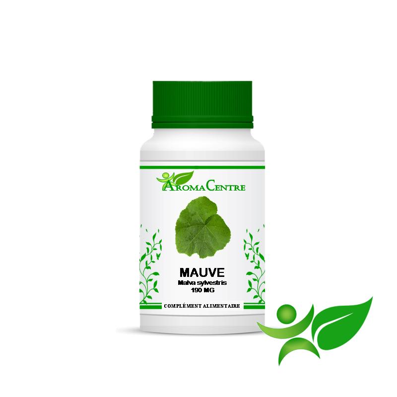 Mauve - Feuille, gélule (Malva sylvestris) 190mg - Aroma Centre