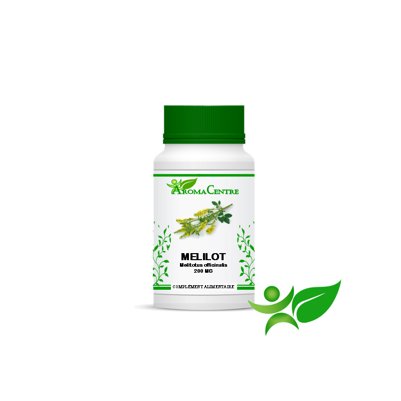 Mélilot jaune - Plante, gélule (Melilotus officinalis) 200mg - Aroma Centre