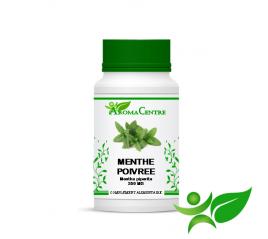 Menthe poivrée - Feuille, gélule (Mentha piperita) 250mg - Aroma Centre