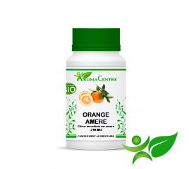 Orange amère BiO - Ecorce, gélule (Citrus aurantium var.amara) 210mg - Aroma Centre