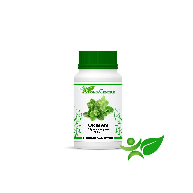 Origan - Feuille, gélule (Origanum vulgare) 250mg - Aroma Centre
