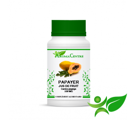 Papayer - Jus de fruit, gélule (Carica papaya) 330mg - Aroma Centre