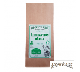Elimination et détox, tisane BiO de plantes - Apophycaire