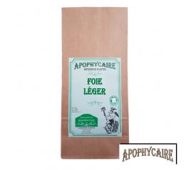 Foie léger, tisane de plantes - Apophycaire