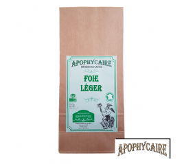 Foie léger, tisane BiO de plantes - Apophycaire
