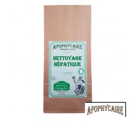 Nettoyage hépatique, tisane de plantes - Apophycaire