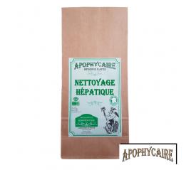 Nettoyage hépatique, tisane BiO de plantes - Apophycaire