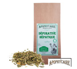 Dépurative hépatique, tisane de plantes - Apophycaire
