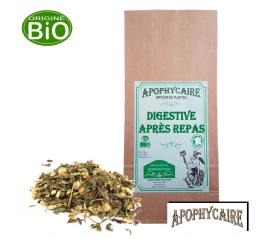 Digestive après repas, tisane BiO de plantes - Apophycaire
