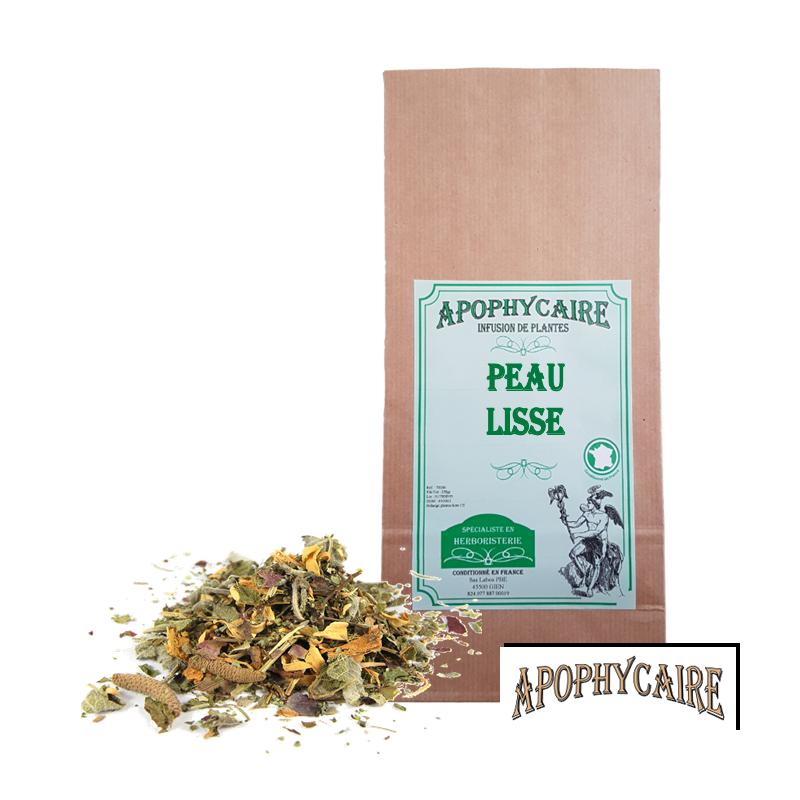 Peau lisse, tisane de plantes - Apophycaire