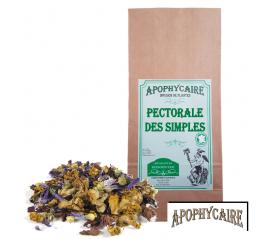 Pectorale des Simples, tisane de plantes - Apophycaire