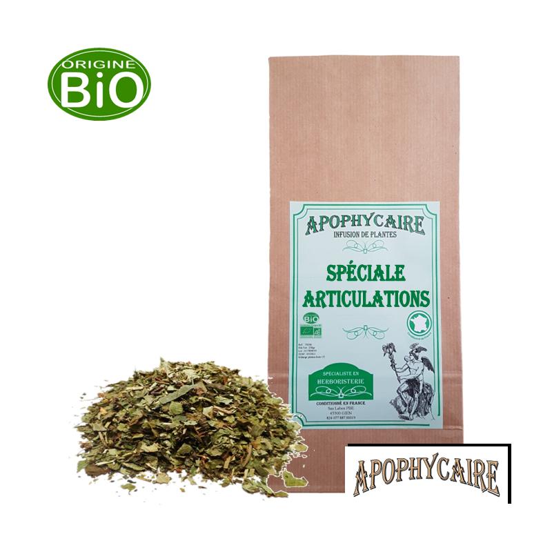 Spéciale Articulations, tisane BiO de plantes - Apophycaire