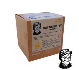 Détox Printemps été sans théine, 20 infusettes 1.5gr naturelles - Piss'Mémère