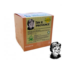 Thym de Provence, 20 infusettes 1.5gr naturelles - Piss'Mémère