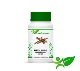 Réglisse - Racine, gélule (Glycyrrhiza glabra) 290mg - Aroma Centre