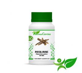 Réglisse BiO - Racine, gélule (Glycyrrhiza glabra) 290mg - Aroma Centre