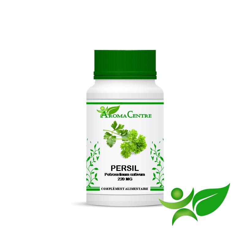 Persil - Feuille, gélule (Petroselinum sativum) 220mg - Aroma Centre
