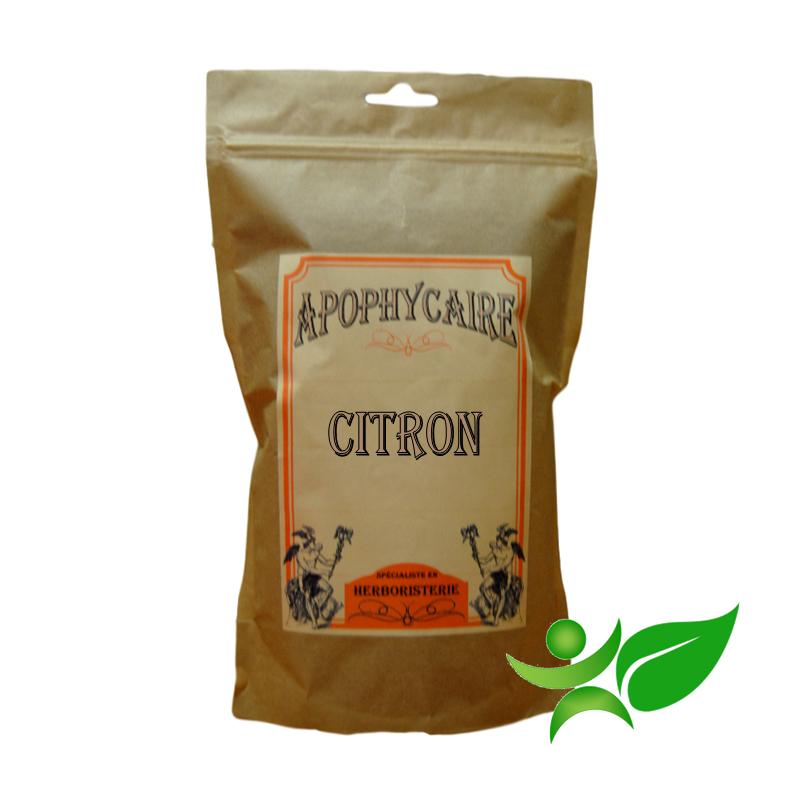 CITRON, Ecorce poudre (Citrus limonum) - Apophycaire